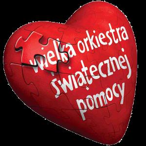 Logo: Wielka Orkiestra Świątecznej Pomocy