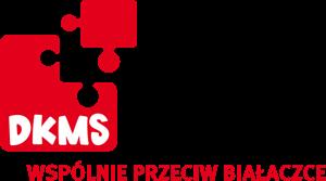 Logo: DKMS Wspólnie Przeciw Białaczce