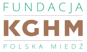 Logo: Fundacja KGHM Polska Miedź