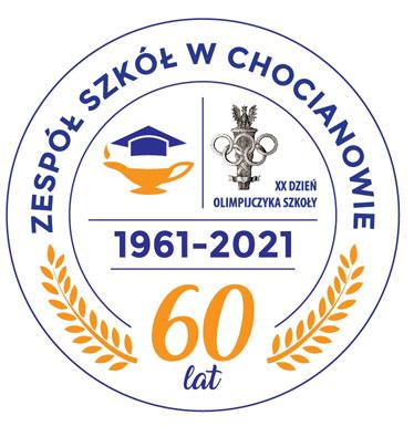 60-Lecie ZS w Chocianowie Logo