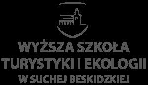 Logo: Wyższa Szkoła Turystyki i Ekologii w Suchej Beskidzkiej