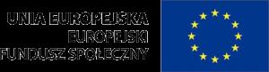 Logo: Unia Europejska: Europejski Fundusz Społeczny