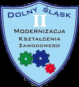 Logo: Modernizacja Kształcenia Zawodowego na Dolnym Śląsku II